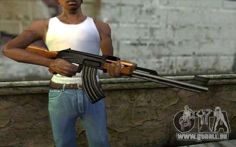 Retextured AK47 für GTA San Andreas dritten Screenshot