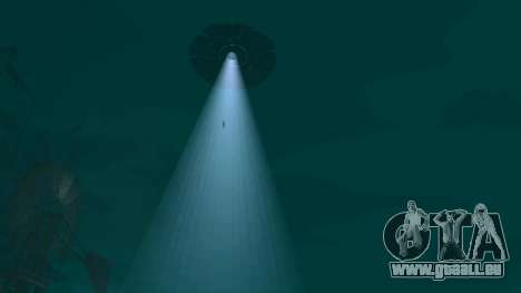 UFO über San Andreas für GTA San Andreas achten Screenshot