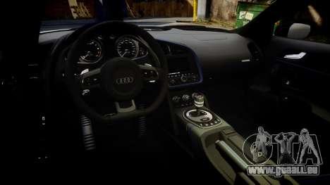 Audi R8 LMX 2015 [EPM] [Update] pour GTA 4 est une vue de l'intérieur