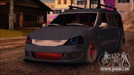 Dacia Logan MCV Tuning pour GTA San Andreas