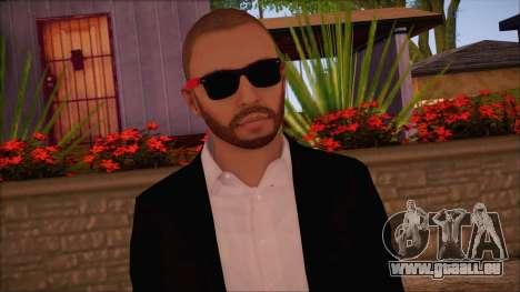 GTA 5 Online Skin 8 pour GTA San Andreas troisième écran