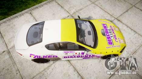 Maserati GranTurismo S 2010 PJ 3 pour GTA 4 est un droit