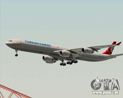 Airbus A340-600 Turkish Cargo pour GTA San Andreas vue de dessous