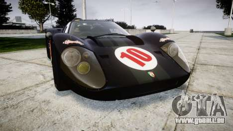 Ford GT40 Mark IV 1967 PJ Scuderia Westfalia 10 für GTA 4