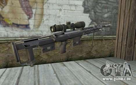 Sniper Rifle from Sniper Ghost Warrior pour GTA San Andreas deuxième écran