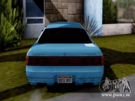 GTA V Intruder für GTA San Andreas rechten Ansicht