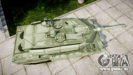 Leopard 2A7 EU Green für GTA 4 rechte Ansicht