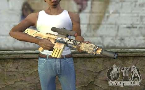 M110 Cuarter Combat Rifle pour GTA San Andreas troisième écran
