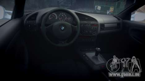 BMW M3 E36 pour GTA 4 Vue arrière
