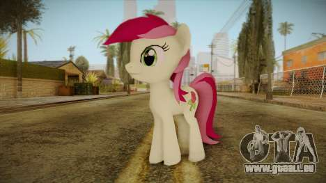 Roseluck from My Little Pony pour GTA San Andreas