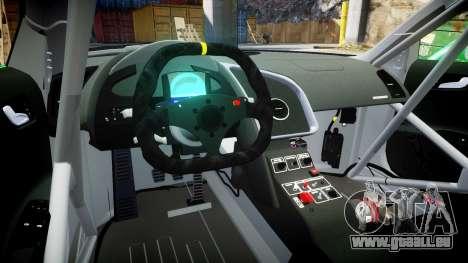 Audi R8 LMS Castrol EDGE für GTA 4 Rückansicht