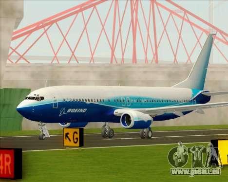 Boeing 737-800 House Colors für GTA San Andreas Seitenansicht