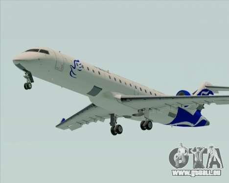 Embraer CRJ-700 China Express Airlines (CEA) pour GTA San Andreas sur la vue arrière gauche