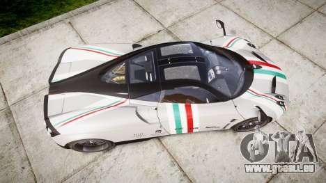 Pagani Huayra 2013 pour GTA 4 est un droit