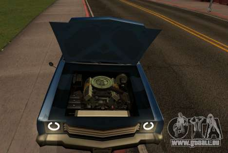 New picador pour GTA San Andreas vue de droite