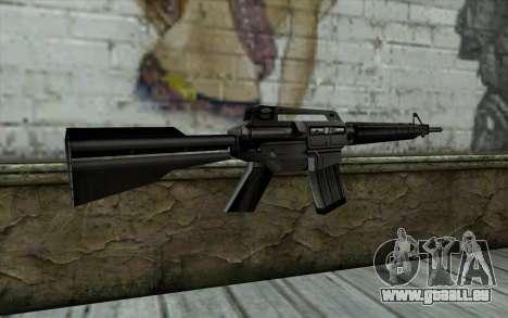 Retextured M4 pour GTA San Andreas deuxième écran