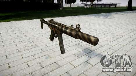 Pistolet MP5SD NA FS pour GTA 4