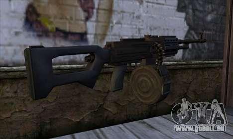 MG from GTA 5 für GTA San Andreas zweiten Screenshot