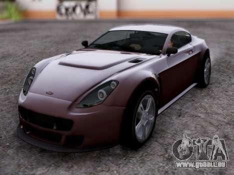 Dewbauchee Rapid GT pour GTA San Andreas