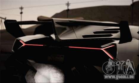 Lamborghini Veneno LP750-4 White Black 2014 pour GTA San Andreas vue de droite
