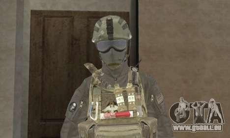 Spec Ops pour GTA San Andreas deuxième écran