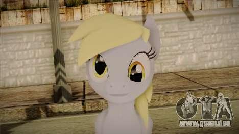 Derpy Hooves from My Little Pony pour GTA San Andreas troisième écran
