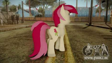 Roseluck from My Little Pony pour GTA San Andreas deuxième écran
