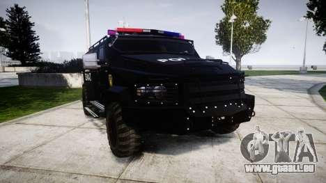 SWAT Van pour GTA 4