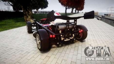 Ariel Atom V8 2010 [RIV] v1.1 S&A pour GTA 4 Vue arrière de la gauche