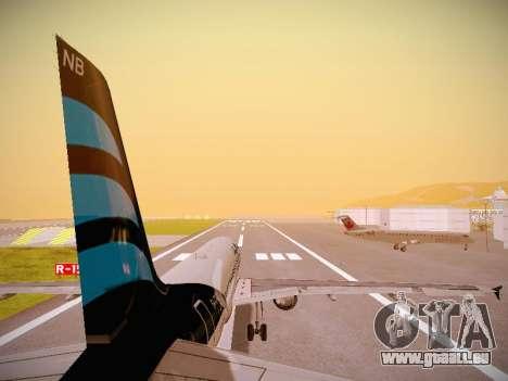 Airbus A320-214 Afriqiyah Airways pour GTA San Andreas moteur