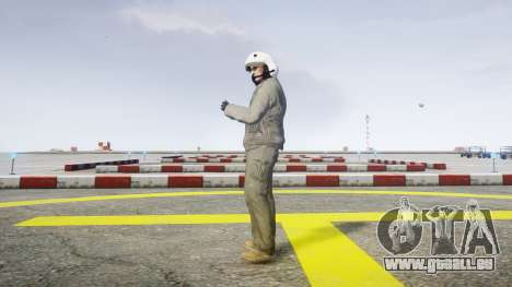 Kampfpilot für GTA 4 Sekunden Bildschirm