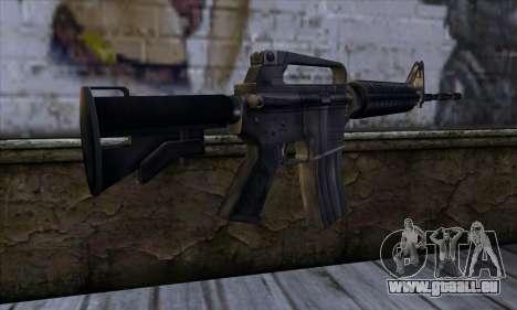 M4 from Far Cry für GTA San Andreas zweiten Screenshot