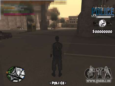 C-Hud Police pour GTA San Andreas
