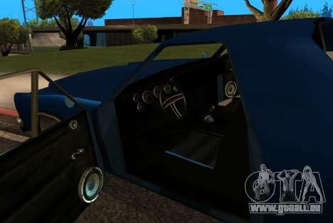 New picador pour GTA San Andreas vue de côté