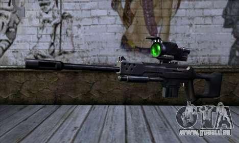 Fusil de Sniper (C&C Renegade) pour GTA San Andreas