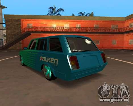 CES 2104 Falken pour GTA San Andreas vue de droite