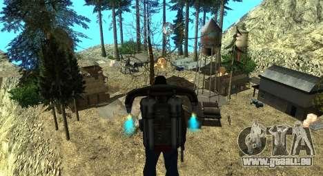 Der Altruist camp am mount Chiliad für GTA San Andreas elften Screenshot