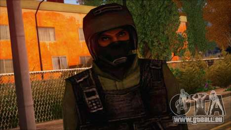 Urban from Counter Strike Condition Zero für GTA San Andreas dritten Screenshot