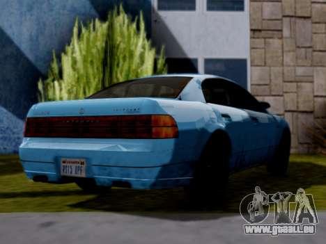 GTA V Intruder für GTA San Andreas linke Ansicht