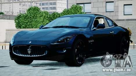 Maserati Granturismo 2012 für GTA 4