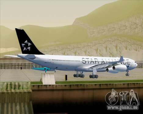 Airbus A340-300 All Nippon Airways (ANA) pour GTA San Andreas roue