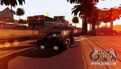 ENB pour ordinateurs faibles pour GTA San Andreas huitième écran