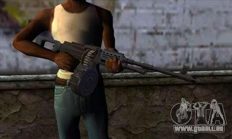 MG from GTA 5 pour GTA San Andreas troisième écran