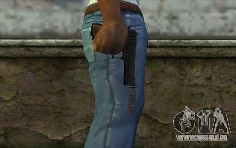 Silenced Colt45 pour GTA San Andreas troisième écran