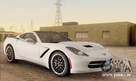 Chevrolet Corvette Stingray C7 2014 für GTA San Andreas