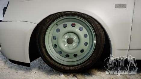 ВАЗ-2170 hohe Qualität für GTA 4 Rückansicht