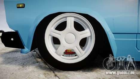 VAZ-2107 meilleur modèle pour GTA 4 Vue arrière