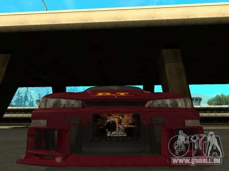 Nissan 200SX FnF1 (Letty car) für GTA San Andreas linke Ansicht