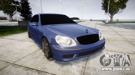 Mercedes-Benz W220 S65 AMG für GTA 4