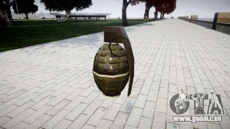Grenade HD pour GTA 4